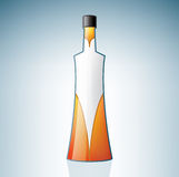 Vodka Bottle. (part of the Alcohol Glass Icons Set Stock Image
