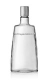 Vodka bottle with a cover Royalty Free Stock Photography