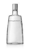 Vodka buteljerar med en täcka royaltyfri fotografi