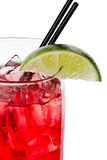 Vodka and cranberry or cape cod Royalty Free Stock Photo