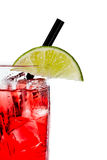 Vodka and cranberry or cape cod Stock Photography