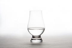 Vodka in a Crystal Tasting Glass Stock Photography