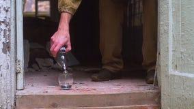 Vodka de boissons alcoolisées clips vidéos