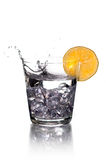 vodka de citron photographie stock libre de droits