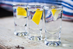 Vodka drink Royalty Free Stock Photo