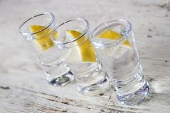 Vodka drink Stock Photography