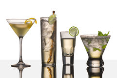 Vodka drinks Stock Photo