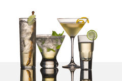 Vodka drinks Stock Images