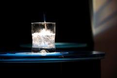 Vodka en bebida de las rocas Foto de archivo libre de regalías