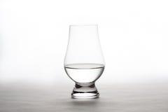 Vodka en Crystal Tasting Glass Fotografía de archivo
