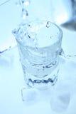 Vodka et glace Photo libre de droits