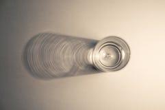 Vodka glass. Lit by side light royalty free stock photo