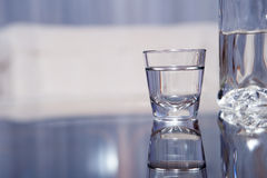 Vodka glass Royalty Free Stock Photo