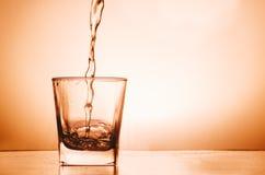 Vodka In Glass stock photo