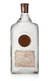 Vodka i en flaska fotografering för bildbyråer