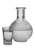 Vodka i exponeringsglas sex fotografering för bildbyråer