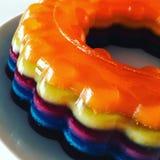 Vodka Jelly Cake fotografia stock libera da diritti