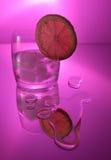 Vodka with lemon Stock Photography