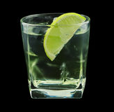 Vodka lime cocktail Royalty Free Stock Photography