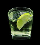 Vodka lime cocktail Stock Photo