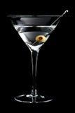 Vodka martin cocktails on black background Stock Image