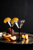 Vodka and martini cocktail Stock Photography