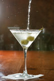 Vodka martini Stock Photo