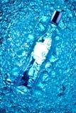 Vodka och is royaltyfria foton