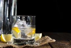 Vodka On The Rocks Royalty Free Stock Photo
