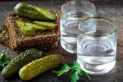 Vodka rusa Imagen de archivo libre de regalías