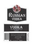 Vodka russa Fotografie Stock