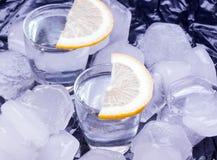 Vodka russe Photographie stock
