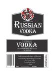 Vodka russe Photos stock