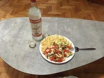 Russian light lunch