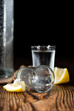 Vodka Shot Royalty Free Stock Images