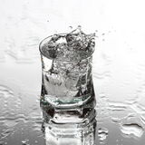Vodka splash Royalty Free Stock Images