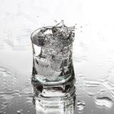 Vodka splash Royalty Free Stock Images