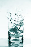 Vodka splash stock photos