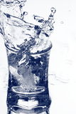 Vodka splash Royalty Free Stock Photography