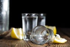 Vodka sulle rocce fotografie stock