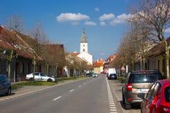 Vodnany, République Tchèque Photographie stock
