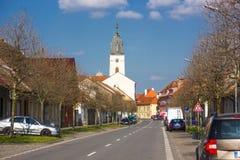 Vodnany, République Tchèque Photographie stock libre de droits