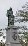 Vodnik-Monument in Ljubljana, Slowenien Lizenzfreie Stockfotos