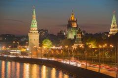 Vodovzvodnaya Tower of the Moscow Kremlin Royalty Free Stock Photography