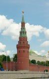 Vodovzvodnaya wierza Moskwa Kremlin (1488) Fotografia Stock