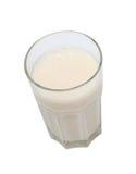 Voedend glas melk Royalty-vrije Stock Foto's