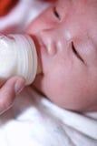 Voedende Baby Royalty-vrije Stock Afbeelding