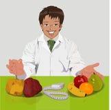Voedingsdeskundige Stock Foto