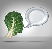 Voedingsinformatie Stock Fotografie