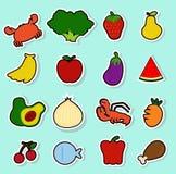 Voedsel 12 royalty-vrije illustratie